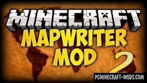 Mapwriter 2 Mod For Minecraft 1.10.2, 1.9.4, 1.8.9