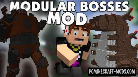 Modular Bosses Mod For Minecraft 1.8