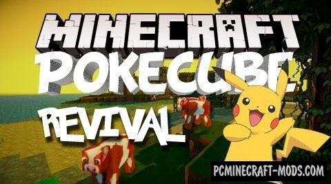 Pokecube Revival Mod For Minecraft 1.12.2, 1.11.2, 1.10.2, 1.9.4