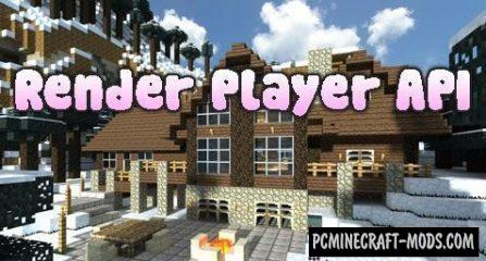 Render Player API Mod For Minecraft 1.12.2, 1.11.2, 1.10.2, 1.7.10