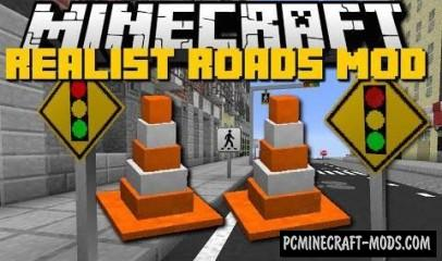Road Mod For Minecraft 1.8.9, 1.8