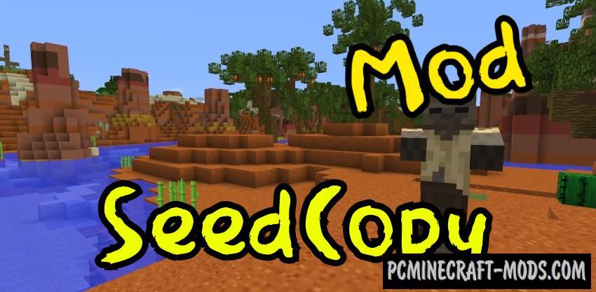 SeedCopy Mod For Minecraft 1.7.10