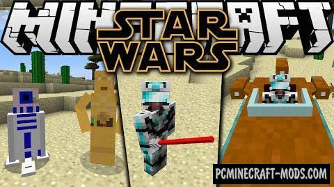 Star Wars by Parzi Mod For Minecraft 1.7.10