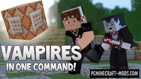 Vampires - New Mobs Mod For Minecraft 1.8.9, 1.8