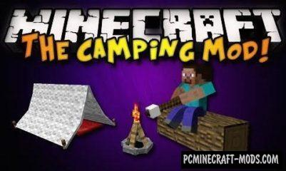 The Camping Mod For Minecraft 1.12.2, 1.11.2, 1.10.2, 1.9.4