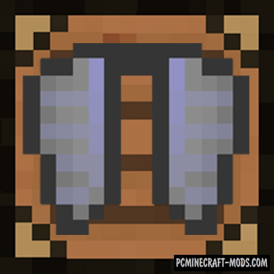 Craftable Elytra - Armor Mod For Minecraft 1.9