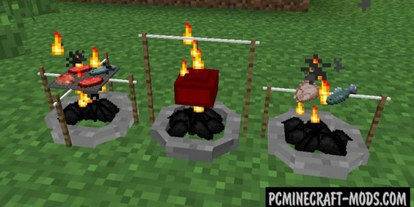 The Camping - Surv Accessories Mod For Minecraft 1.12.2