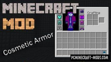 Cosmetic Armor Reworked Mod For Minecraft 1.12.2, 1.11.2, 1.10.2, 1.9.4