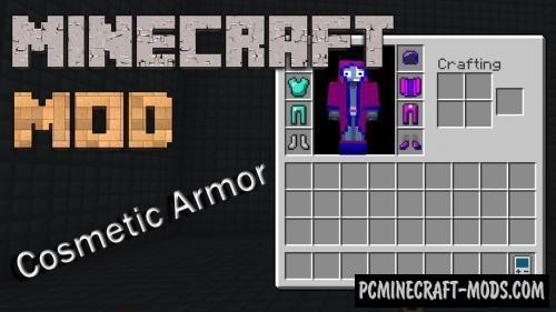 Cosmetic Armor Reworked Mod For Minecraft 1.16.5, 1.12.2