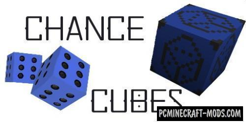 Chance Cubes - New Lucky Blocks Mod For MC 1.16.3, 1.15.2