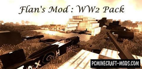 Flan's World War Two Pack Mod For Minecraft 1 12 2, 1 8, 1 7