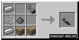Rope Bridge - Gun Mod For Minecraft 1.16.4, 1.14.4