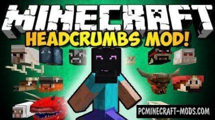 Headcrumbs Mod For Minecraft 1.12.2, 1.11.2, 1.10.2, 1.7.10