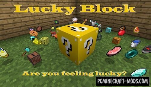 Lucky Block Mod For Minecraft 1.15.2, 1.14.4, 1.12.2
