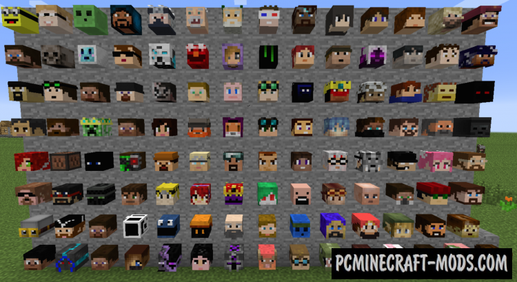 Headcrumbs Mod For Minecraft 1.12.2, 1.11.2, 1.10.2, 1.7.10