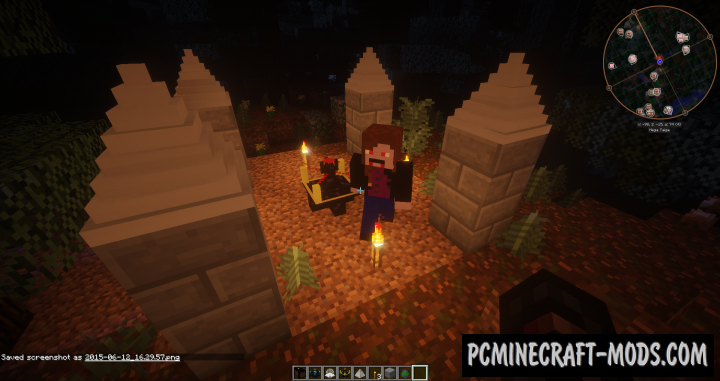 Vampirism Mod For Minecraft 1.12.2, 1.11.2, 1.10.2, 1.7.10