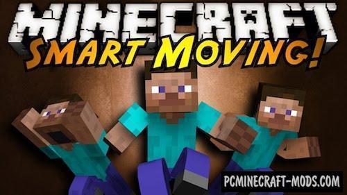 Smart Moving - Tweak Mod For Minecraft 1.8.9, 1.7.10