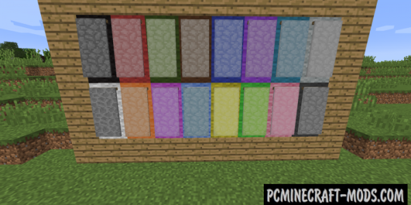Additional Banners - Decor Mod For Minecraft 1.16.4, 1.12.2