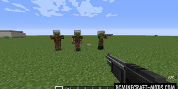 Techguns - Modern Guns, Armor Mod For Minecraft 1.12.2
