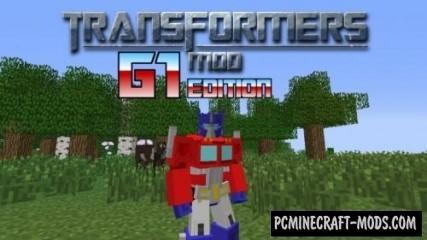 Transformers Mod: G1 Edition Mod For Minecraft 1.7.10