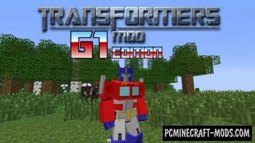 Transformers Mod: G1 Edition Mod For Minecraft 1.7.10 | PC Java Mods