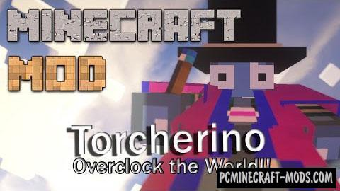 Torcherino Blue Torch - Tweak Booster Mod MC 1.16.5, 1.12.2
