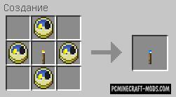 Torcherino Blue Torch - Tweak Booster Mod MC 1.16.5, 1.12.2