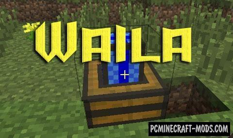 Waila - GUI Mod For Minecraft 1.10.2, 1.9.4, 1.8.9, 1.7.10