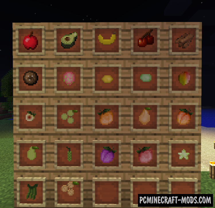 HarvestCraft Mod For Minecraft 1.12.2, 1.11.2, 1.10.2, 1.7.10