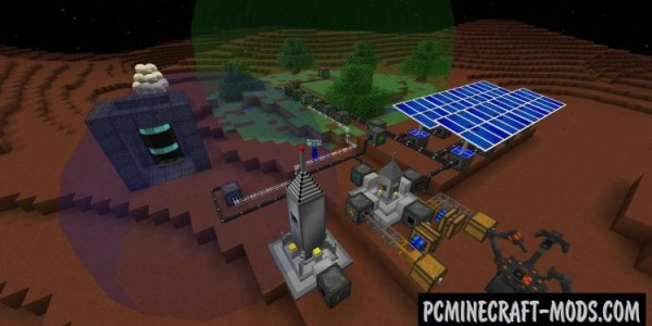 Galacticraft Mod For Minecraft 1.12.2, 1.11.2, 1.10.2, 1.7.10