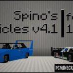Vanilla Vehicles Minecraft PE Bedrock Mod 1.6.0, 1.5.3, 1.4.4