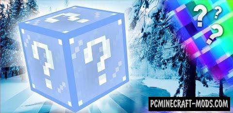 Frosty Lucky Block Mod For Minecraft 1.7.10