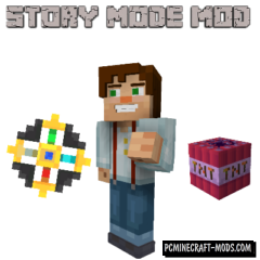 Minecraft Story Mode Mod For Minecraft 1.7.10