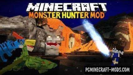 Monster Hunter Frontier Mod For Minecraft 1.7.10, 1.6.4