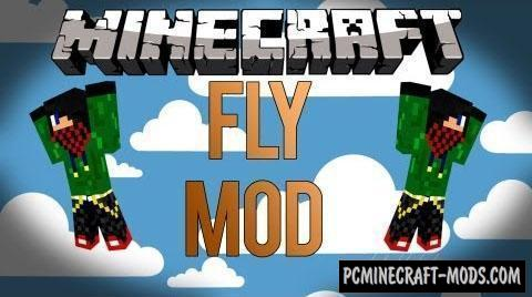 Fly Hack - Mod For Minecraft 1.8.9