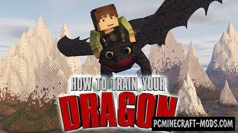 How To Train Your Minecraft Dragon Mod For Minecraft 1.7.10