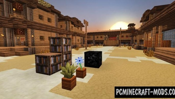 ICrafting's Western Style 32x Texture Pack For Minecraft