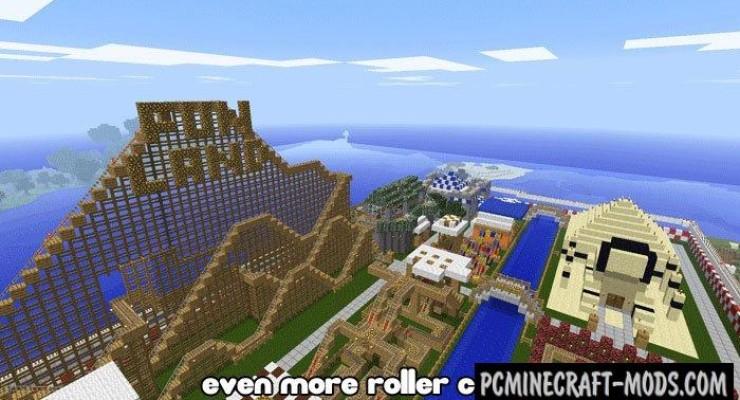 [Map] Diamond Mine Rollercoaster - Горки! » Скачать карты ...