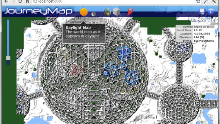 Journeymap Mod For Minecraft 1 12 2 1 11 2 1 10 2 1 9 4 1 14 1
