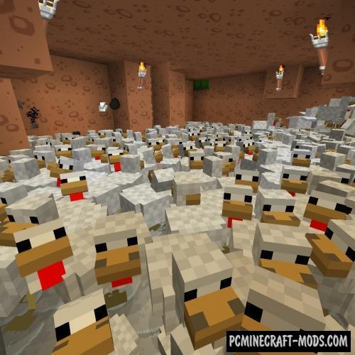 Stacksize - Tweak Mod For Minecraft 1.12.2, 1.11.2, 1.7.10