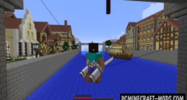 3D Maneuver Gear - Mech Mod For Minecraft 1.16.5, 1.8.9