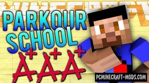 Parkour School Map For Minecraft