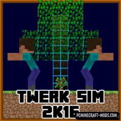 Twerk Sim Mod For Minecraft 1.12.2, 1.11.2, 1.10.2