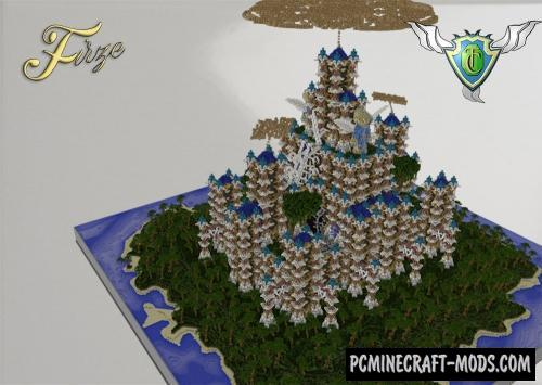 Firze - The Paradise Island - Castle Map Minecraft
