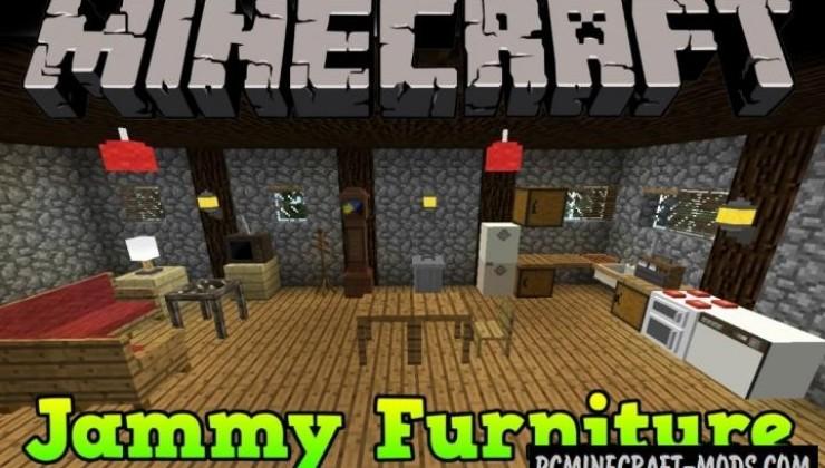 Jammy Furniture Reborn Mod For Minecraft 1.7.10, 1.6.4