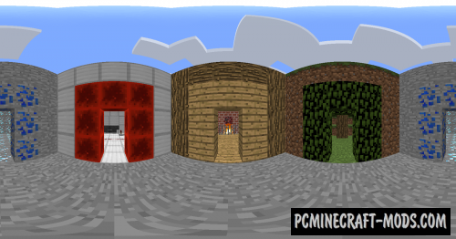 Render 360 - Shaders Mod For Minecraft 1.12.2, 1.11.2
