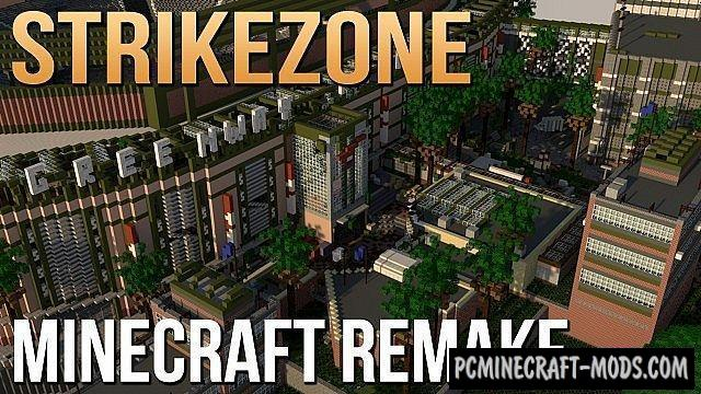 Strikezone (Call of Duty: Ghosts) Map Minecraft