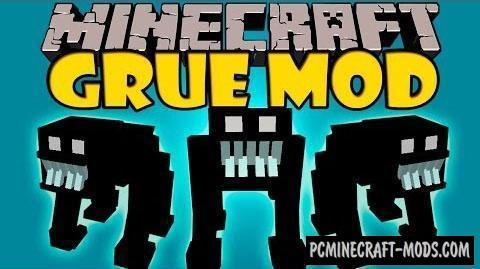 Grue Mod For Minecraft 1.11, 1.10.2, 1.9.4, 1.7.10