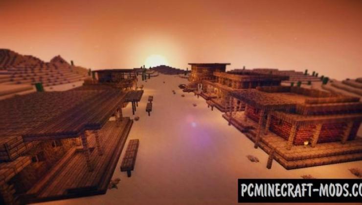 WILD WEST - Survival Map For Minecraft