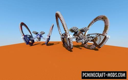 CIS Droid Army - 3D Art Map For Minecraft